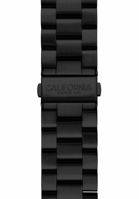 California Watch Co. 22mm Black Mavericks Bracelet (CWC-MVK-22S-03B-3)