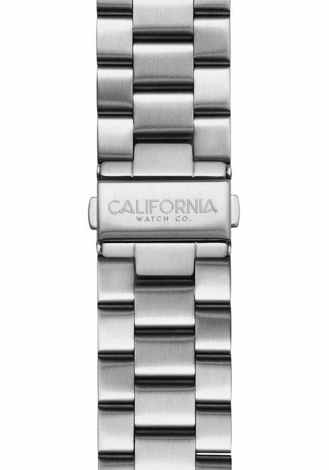 California Watch Co. 22mm Silver Mavericks Bracelet (CWC-MVK-22S-01B-1)
