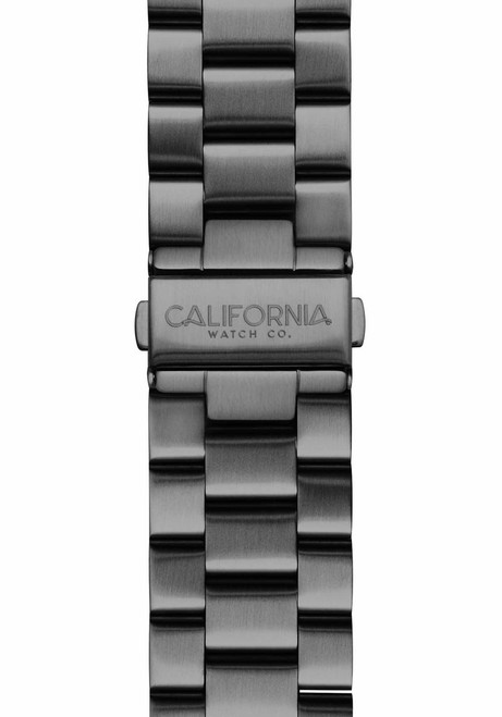 California Watch Co. 22mm Gunmetal Mavericks Bracelet (CWC-MVK-22S-02B-2)