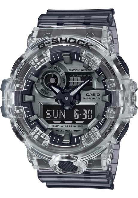 G-Shock GA700 Skeleton Ana Digi Clear Grey (GA700SK-1A)