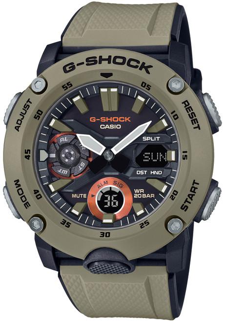 G-Shock GA2000 Carbon Core Ana-Digi Tan (GA2000-5A)
