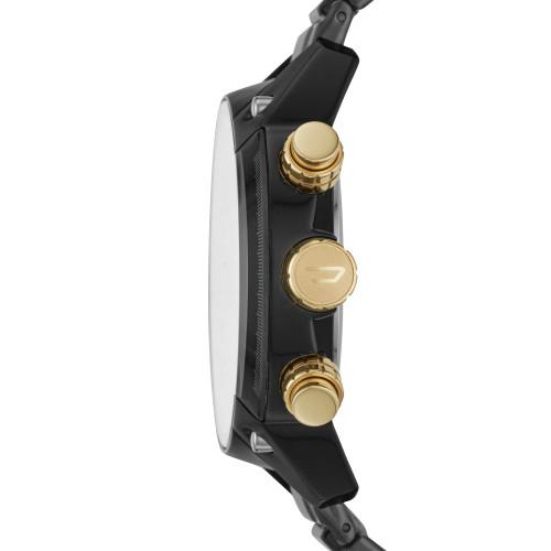 Diesel DZ4504 Overflow Chrono Black Gold SS (DZ4504)