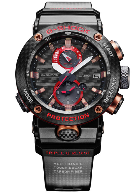 7f0b923faa G-Shock Gravitymaster Carbon Core Black Red Limited Edition
