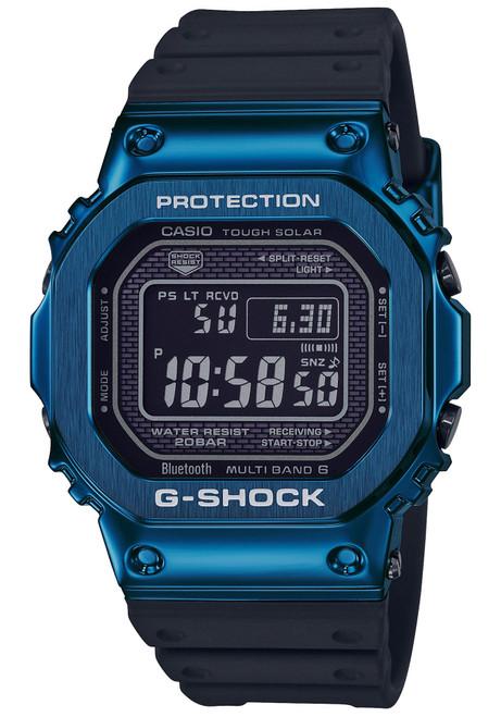 G-Shock GMWB5000 Standard Digital Black Blue (GMWB5000G-2)