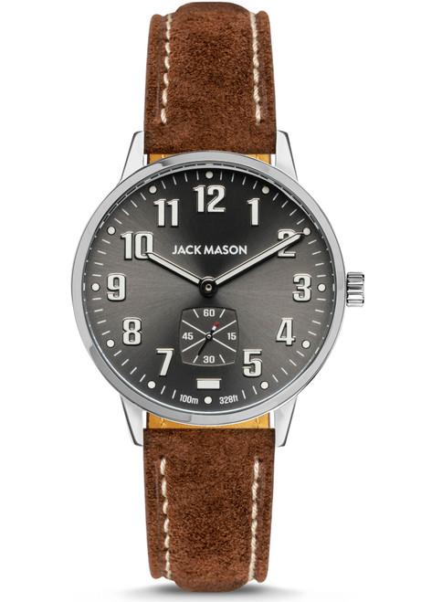 Jack Mason Field Gunmetal Brown (JM-F401-019)
