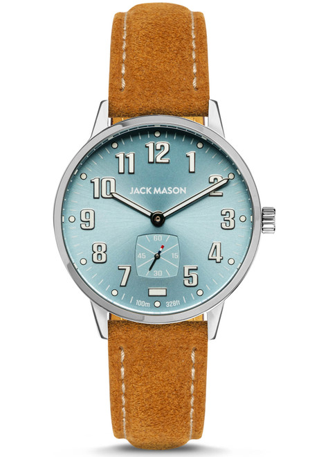 Jack Mason Field Light Blue Tan (JM-F401-021)
