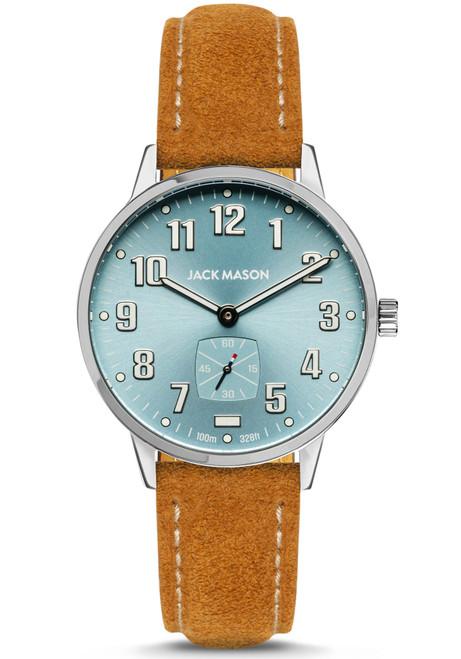 Jack Mason Field Light Blue Tan (JM-F401-021)