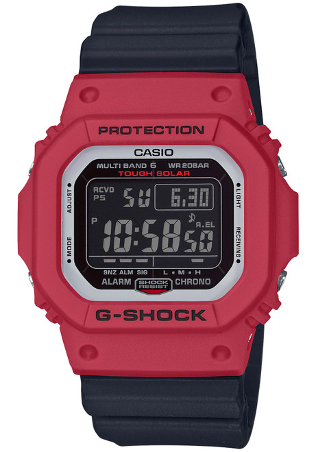 G-Shock RB Series Classic Solar Digital Red Black (GWM5610RB-4)