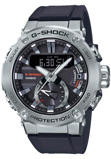 G-Shock GSTB200 Carbon Core Solar Ana-Digi Black Silver (GSTB200-1A)