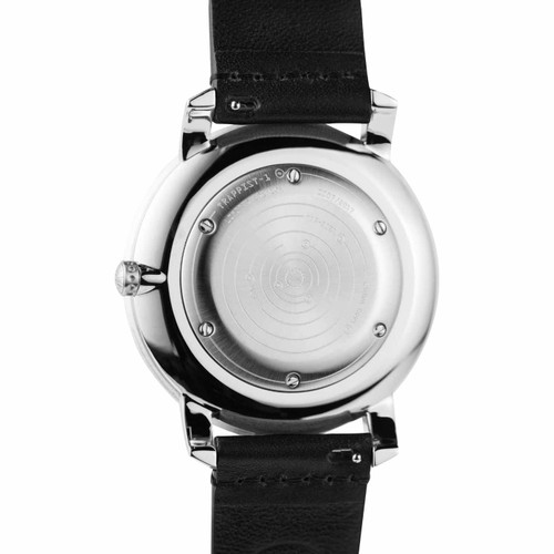 Xeric Trappist-1 Moonphase Silver Black (TMP-3023) back