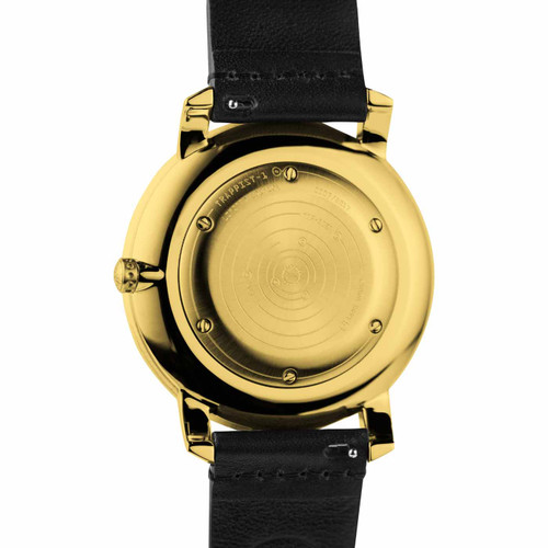 Xeric Trappist-1 Moonphase Gold Black (TMP-3025) back