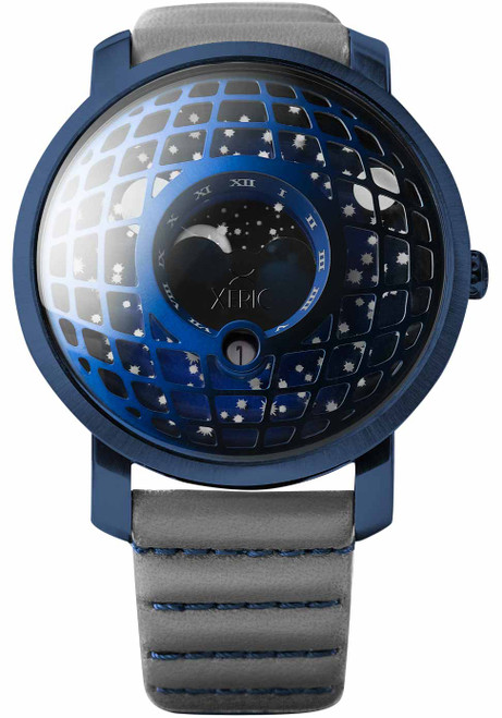 Xeric Trappist-1 Moonphase Blue Gray (TMP-3024)
