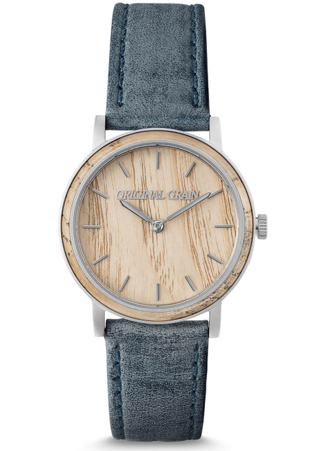 Original Grain Avalon Ash Wood 34mm Grey Light Brown (OG-3418-01-WBBS)