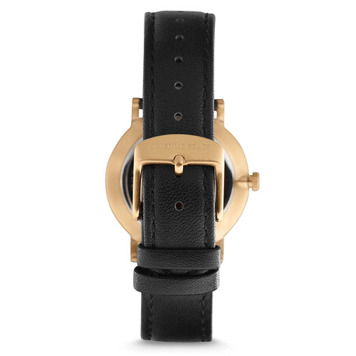 Original Grain Avalon Koa Wood 34mm Gold Black (OG-3418-01-WBBG)