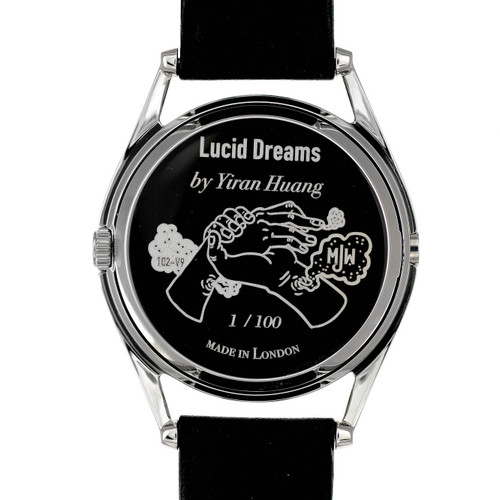 Mr. Jones Lucid Dreams Limited Edition Automatic (102-V9) caseback