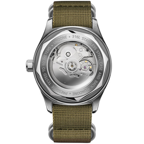 UNDONE Basecamp Standard Automatic Silver (UND-BSCMP-SIL)