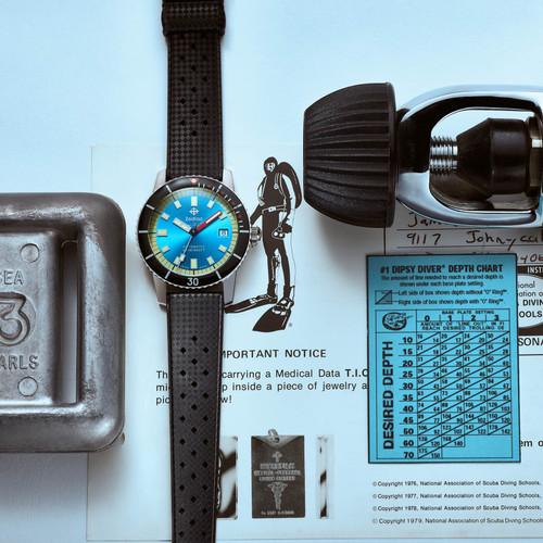 Zodiac ZO9275 Super Sea Wolf 53 Automatic Black Blue (ZO9275)