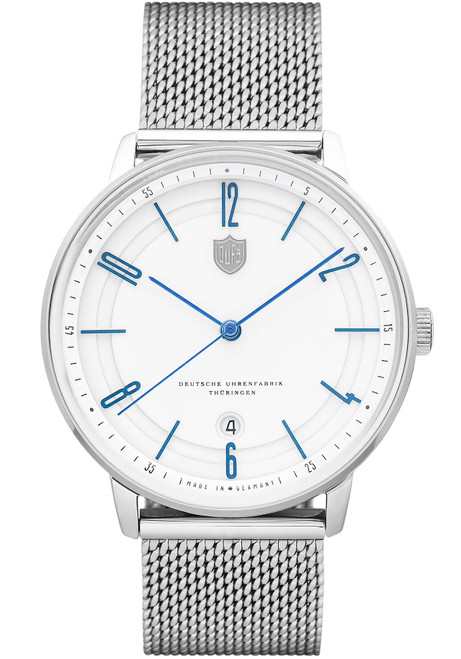 DuFa Bayer Swiss Automatic Silver White (DF-9016-22)