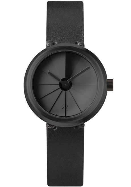 22 Design 4th Dimension Concrete Watch 30mm Shadow (CW05005) front