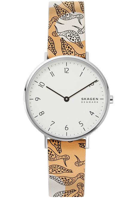 Skagen Aaren Birdwatching White Yellow (SKW2780)