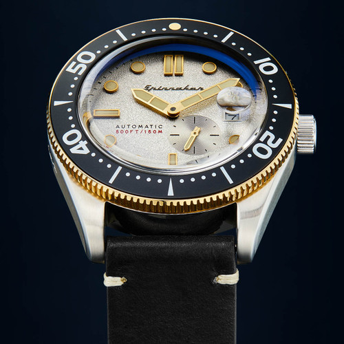 Spinnaker Croft Automatic Silver Black (SP-5058-0A)