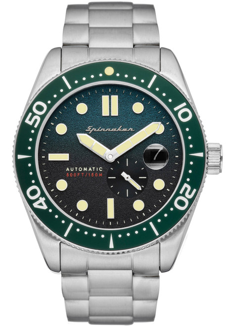 Spinnaker Croft Automatic Green Silver (SP-5058-11)
