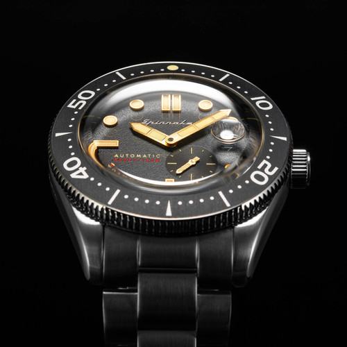 Spinnaker Croft Automatic Black Silver (SP-5058-22)
