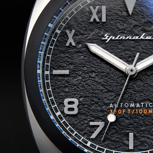 Spinnaker Hull Automatic Grey Black (SP-5071-04)Spinnaker Hull Automatic Grey Black (SP-5071-04)
