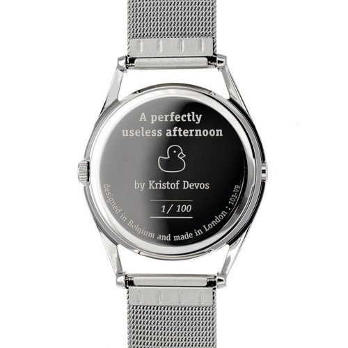 Mr. Jones A Perfectly Useless Afternoon Limited Edition caseback