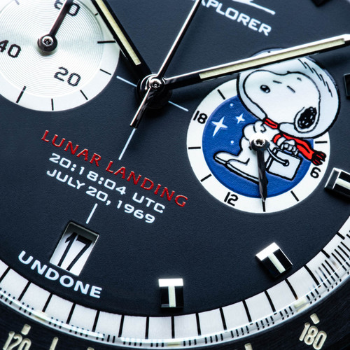 Undone Peanuts Lunar Mission Snoopy Moon Heritage Chronograph Limited Edition (UND-SNOOPY-LNR-HRTG)