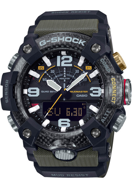 G-Shock GGB100 Mudmaster Connected Ana-Digi Olive Grey (GGB100-1A3)