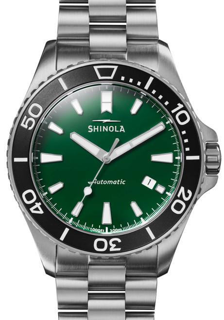 Shinola Lake Ontario Monster 43mm Automatic Green (S0120169380)
