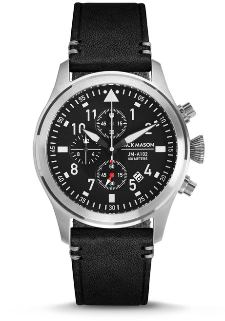 Jack Mason Aviation Pursuit Chronograph Black (JM-A102-015)