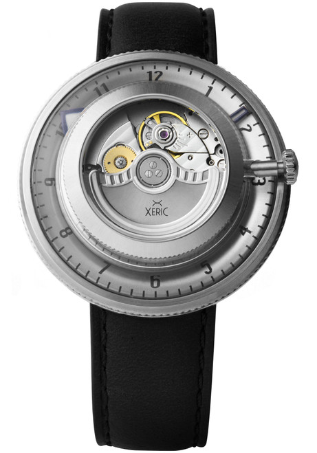Xeric Invertor Automatic Silver Black Limited Edition (IVR-1117-03L)