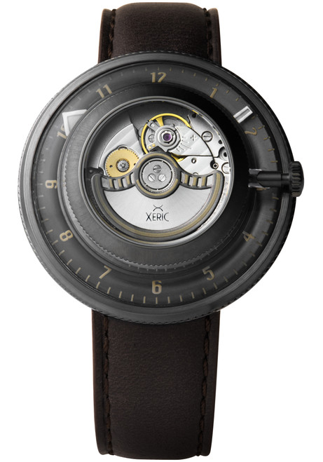 Xeric Invertor Automatic Gunmetal Brown Limited Edition (IVR-2223-06L)