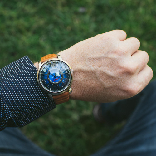 Xeric Trappist-1 NASA Edition I.S.S. (TQN-1127-12L) wrist
