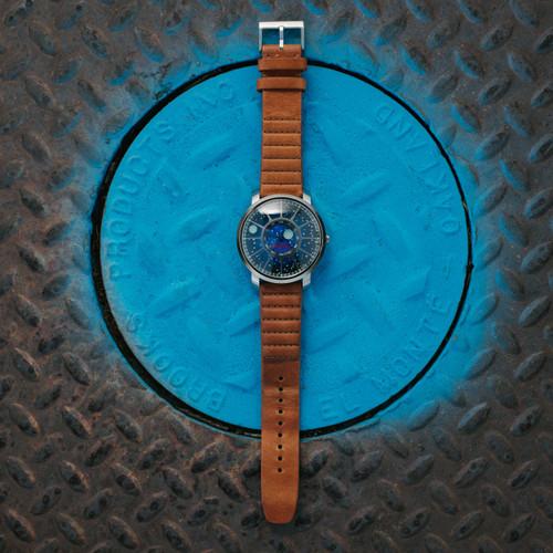 Xeric Trappist-1 NASA Edition I.S.S. (TQN-1127-12L) blue circle