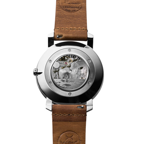 Xeric Trappist-1 Automatic NASA Edition I.S.S. (TAN-1127-12L) back