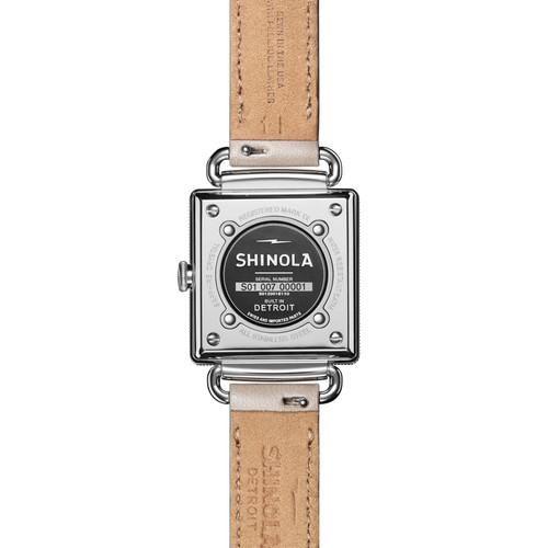 Shinola Cass 28mm Cream Pink (S0120161931)