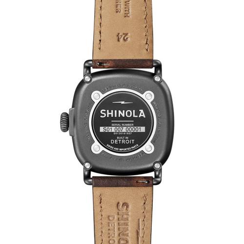 Shinola The Guardian 41.5mm Grey Brown (S0120161937)
