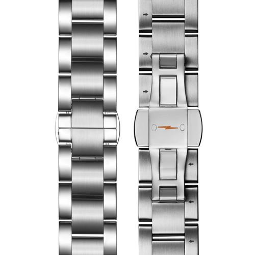 Shinola Runwell 47mm Chronograph Gray Silver SS (S0120161938)