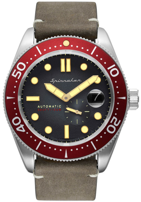 Spinnaker Croft Automatic Red Grey (SP-5058-05)