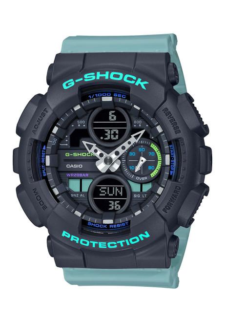 G-Shock GMAS140 G-Series Ana-Digi Mint Black (GMAS140-2A)