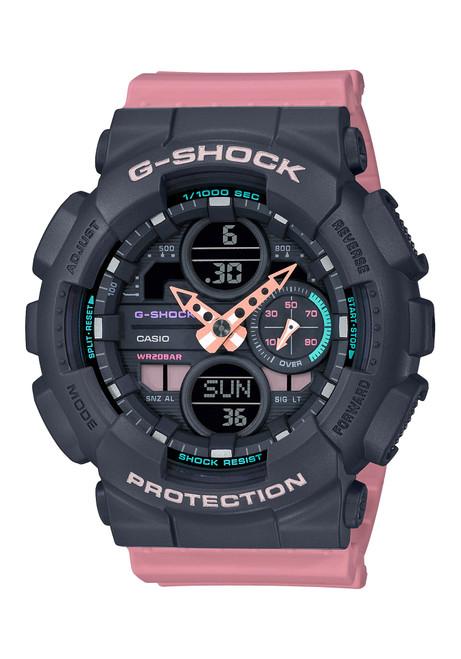 G-Shock GMAS140 G-Series Ana-Digi Pink Black (GMAS140-4A)