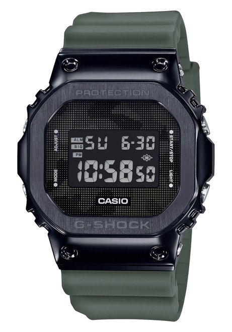 G-Shock GM5600B Resin Metal Digital Olive Black (GM5600B-3)