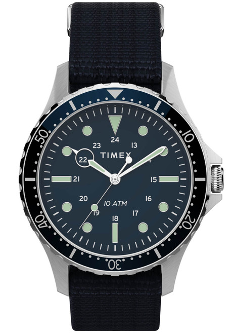 Timex Navi XL Navy Black Nylon (TW2T75400)