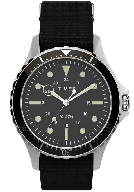 Timex Navi XL Grey Black Nylon (TW2T75600)