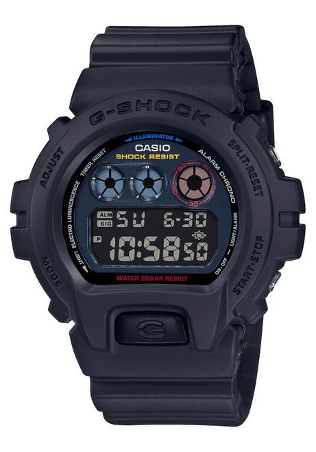 G-Shock DW6900 Digital Neo Tokyo Black (DW6900BMC-1)