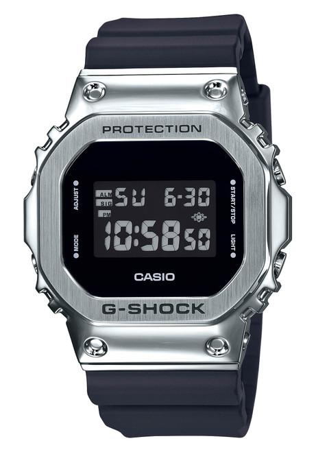 G-Shock GM5600 Standard Digital Silver Black (GM5600-1)