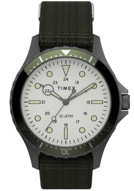 Timex Navi XL 41mm Grey Olive (TW2T75500)